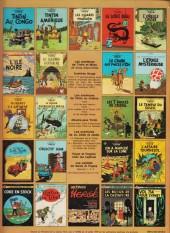 Verso de Tintin (Historique) -7C1- L'Ile Noire