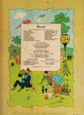 Verso de Tintin (Historique) -19B42- Coke en Stock