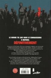 Verso de Walking Dead -FL08- Deuil & Espoir - Un Vaste Monde