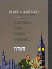 Verso de Blake et Mortimer - La collection (Hachette) -0- Le rayon