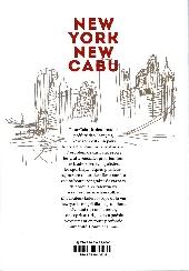 Verso de Cabu (voyages au bout du crayon) - New York