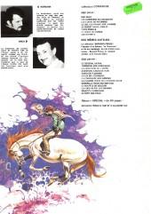 Verso de Comanche -7a1980- Le doigt du diable