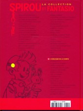 Verso de Spirou et Fantasio - La collection (Cobra) -38- L'horloger de la comète