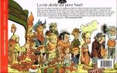 Verso de La vie drôle et secrète du père Noël - La vie drôle du père Noël