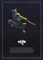 Verso de Okko -INT4- Le Cycle du feu - Édition intégrale