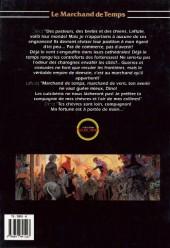 Verso de Le marchand de temps -2- Chimères