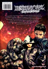 Verso de Resident Evil - Marhawa desire -4- Volume 4
