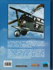 Verso de Histoires de pilotes -5- Charles Nungesser - L'ange de fer