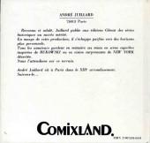 Verso de (AUT) Juillard -5- 75013 Paris