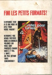 Verso de Histoires noires (Elvifrance) -31- Les cercueils flottants