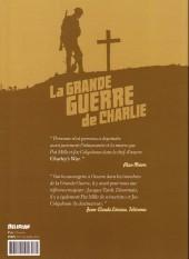 Verso de La grande Guerre de Charlie -5- Les Tranchées d'Ypres