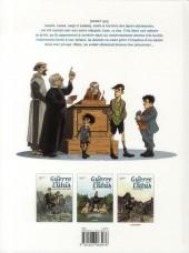 Verso de La guerre des Lulus -2- 1915 - Hans