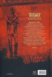 Verso de Sherlock Holmes (Colomino/Palomé) - Et la conspiration de Barcelone