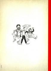 Verso de Les pieds Nickelés - La collection (Hachette) -4- Les pieds nickelés diseurs de bonne aventure