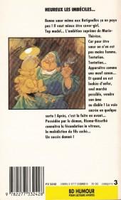Verso de Sœur Marie-Thérèse -2Poche- Heureux les imbéciles...