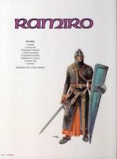 Verso de Ramiro -1a1984- Le bâtard