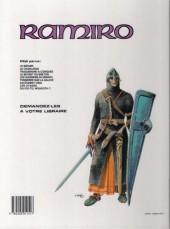 Verso de Ramiro -3a89- Traquenard à Conques : Mission pour Compostelle 1