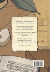 Verso de Sherlock Holmes - La BD dont vous êtes le héros -1- Livre 1