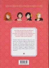 Verso de Les colombes du Roi-Soleil -3- Charlotte, la rebelle