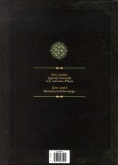 Verso de Les forêts d'Opale -HS2- Le Codex d'Opale - Livre second - Rencontres au fil des voyages