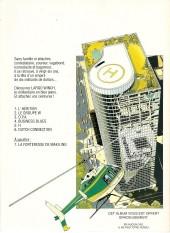 Verso de Largo Winch -1off- L'héritier