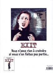 Verso de Exit (Werber/Mounier) -2- Le Deuxième Cercle