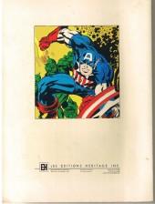 Verso de Capitaine America (Éditions Héritage) -HS1- Capitaine America