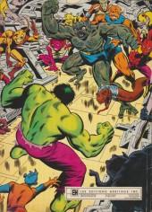 Verso de L'incroyable Hulk (Éditions Héritage) -HS- Le pouvoir du docteur Doom