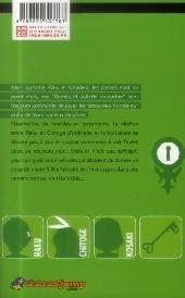 Verso de Nisekoi - Amours, mensonges & yakuzas ! -2-