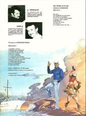 Verso de Bernard Prince -8b1981- La flamme verte du conquistador