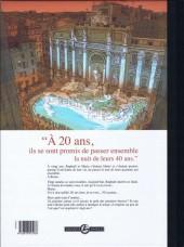 Verso de Une nuit à Rome -2TL- Tome 2