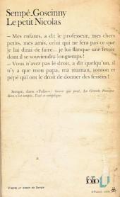 Verso de Le petit Nicolas - Tome 1Poch2