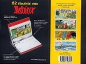 Verso de Astérix (Autres) - Calendrier perpétuel 52 semaines