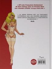 Verso de Pour une nuit - Fantasmes au féminin