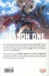 Verso de Season One (100% Marvel) -10- Thor