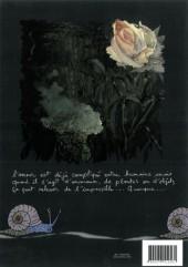 Verso de Les amours impossibles ! (Bourrier) - Les Amours impossibles ! - Bandes dessinées poétiques et humoristiques