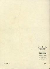 Verso de Rapaces (Impéria) -Rec33- Collection reliée N°33 (du n°256 au n°259)