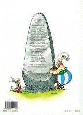 Verso de Astérix (Hachette) -6c02- Astérix et Cléopâtre