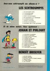 Verso de Johan et Pirlouit -10b77- La guerre des 7 fontaines