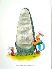 Verso de Astérix -35ES- Astérix chez les pictes