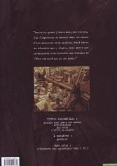 Verso de Blacksad -1e- Quelque part entre les ombres