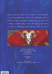 Verso de Blacksad -4a- L'enfer, le silence