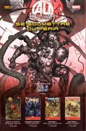 Verso de Uncanny Avengers (1re série) -6- Le Pion prend le Roi