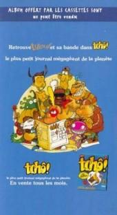 Verso de Titeuf (Publicitaire) -Sony2- Ze Best Of II
