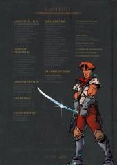 Verso de Lanfeust et les mondes de Troy - La collection (Hachette) -1- Lanfeust de Troy - L'ivoire du Magohamoth
