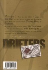 Verso de Drifters -3- Tome 3