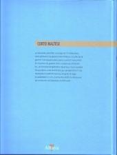 Verso de Corto Maltese (Couleur Format Normal) -1d- la jeunesse