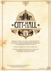 Verso de City Hall -1TL- Tome 1