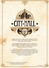 Verso de City Hall -2TL- Tome 2
