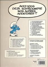 Verso de Les schtroumpfs -2c90- Le schtroumpfissime (+ schtroumpfonie en ut)